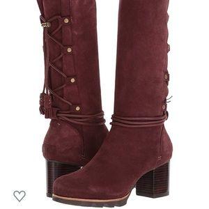 NWT Sorel Farrah Non Shell Redwood Suede Boots